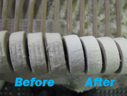 hammers before and after shaping